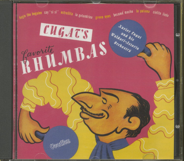 Cugat's Favourite Rhumbas (CD)
