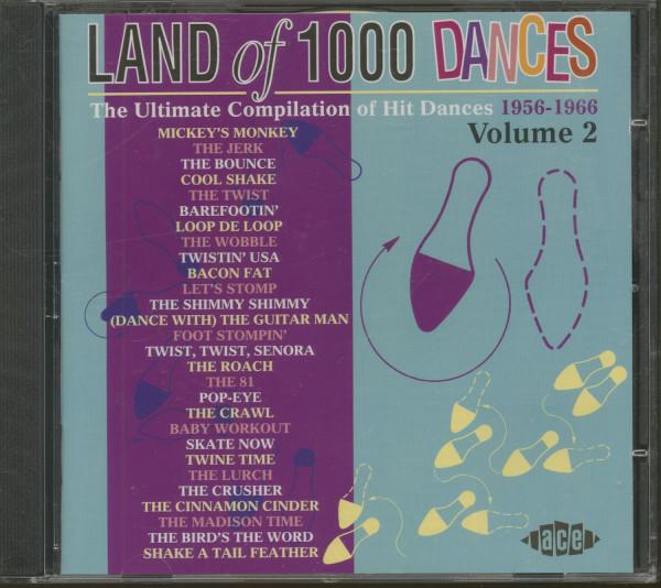 Land Of 1000 Dances Vol.2 - The Ultimate Compilation Of Hit Dances 1956-1966