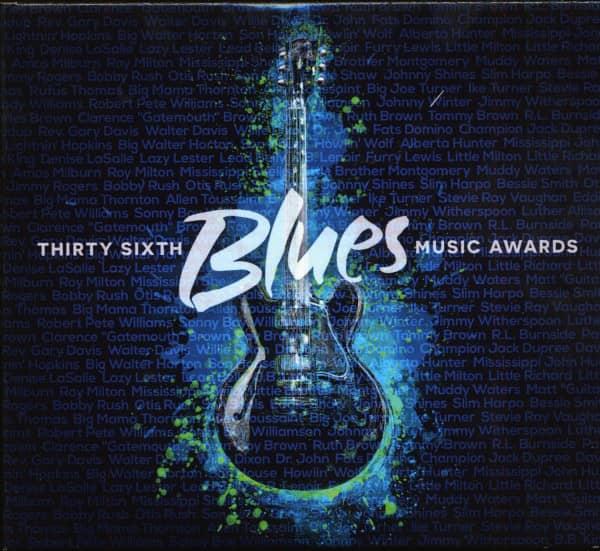 36th Blues Music Awards, 2015 (CD & DVD)