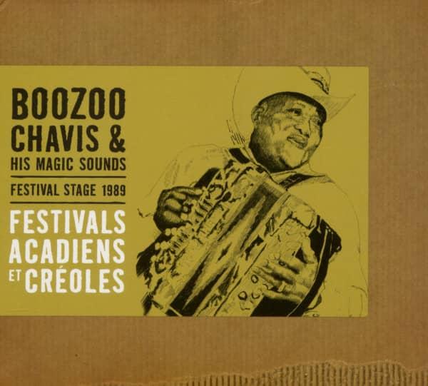 Festival Stage 1989: Festivals Acadiens Et Créoles (CD)