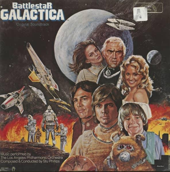 Battlestar Galactica - Original Motion Picture Soundtrack (LP)