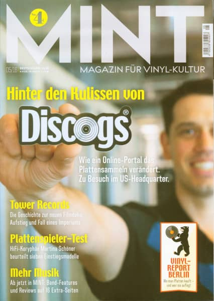 Mint Magazin #4, Mai 2016 - Magazin für Vinyl-Kultur
