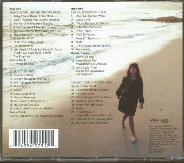 The Best Of Linda Ronstadt - The Capitol Years (2-CD, EU-Version)