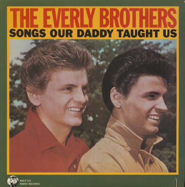 Songs Our Daddy Taught Us (LP, Cut-Out)