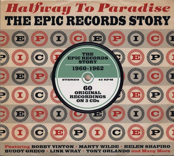 Halfway To Paradise - The EPIC Records Story (3-CD)