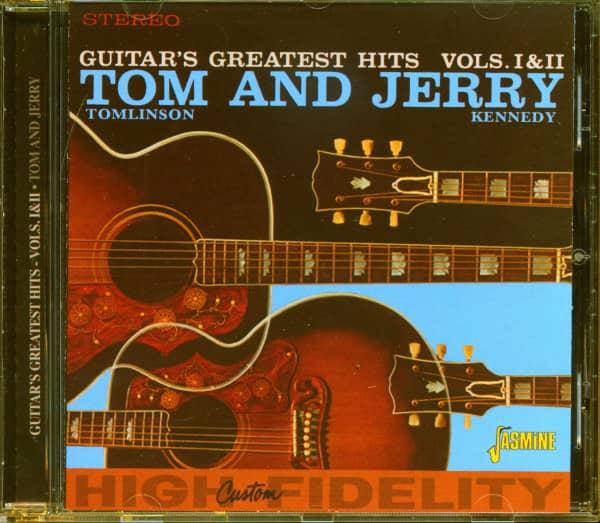 Tom & Jerry - Guitar's Greatest Hits Vols. 1 & 2 (CD)