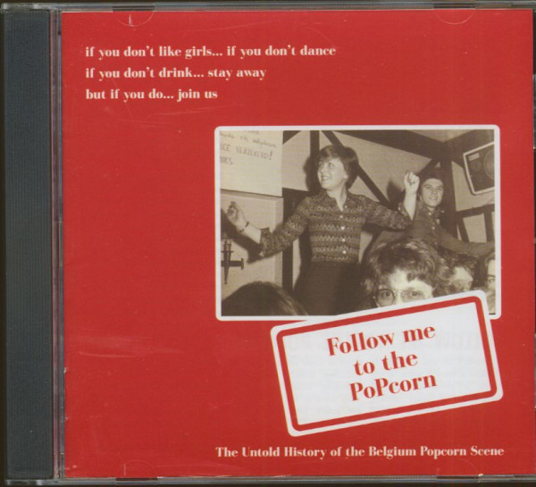 Follow Me To The Popcorn (CD)