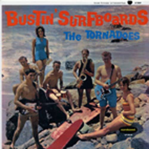 Bustin' Surfboards (LP)
