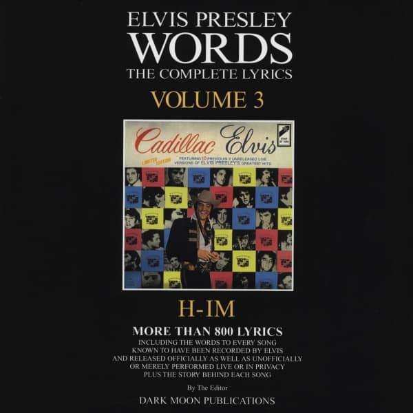 Words Vol.03 - The Complete Lyrics H-IM