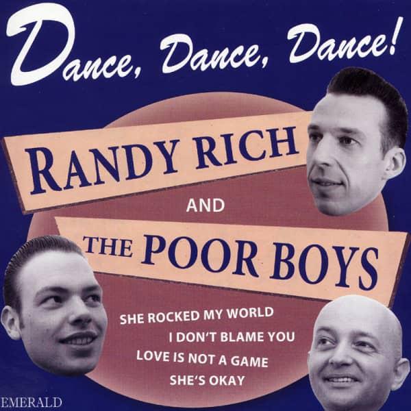 Dance, Dance, Dance! 7inch, 45rpm, EP, PS