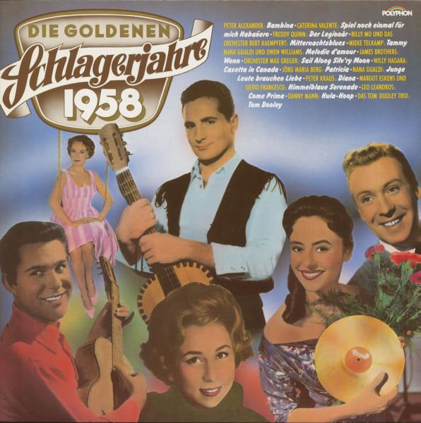 Die Goldenen Schlagerjahre 1958 (LP)