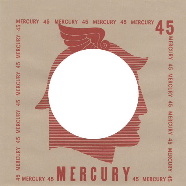 (10) Mercury, USA - 45rpm record sleeve - 7inch Single Cover