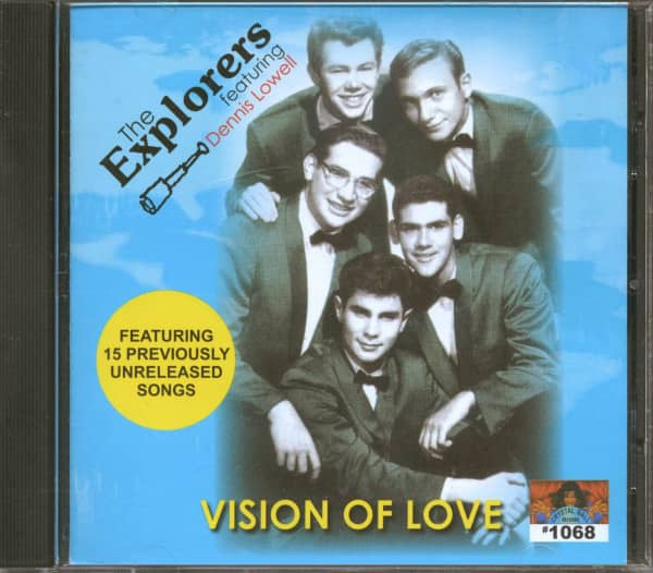 Vision Of Love (CD)