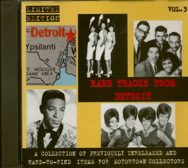Rare Tracks From Detroit Vol.3 (CD)