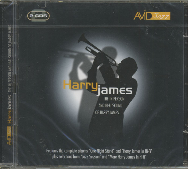 The In Person And Hi-Fi Sound Of Harry James (CD)