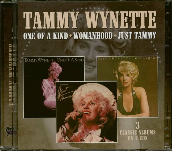 One Of A Kind + Womanhood + Just Tammy (2-CD)