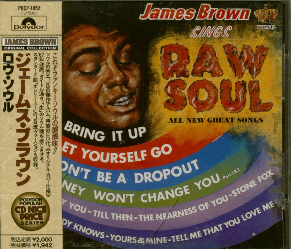 Sings Raw Soul (CD-Japan)