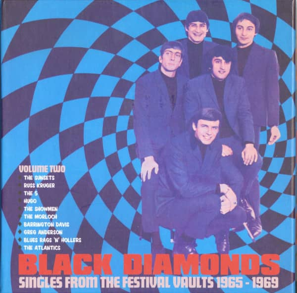 Black Diamonds, Vol.2 - Singles From The Festival Vaults 1965-1969, 10x7inch