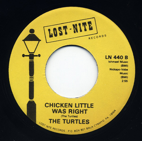 She's My Girl - Chicken Little Was Right 7inch, 45rpm
