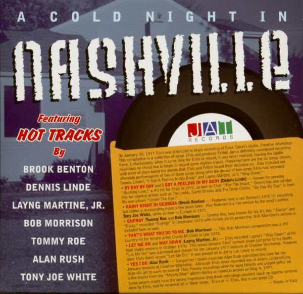 A Cold Night In Nashville (CD)