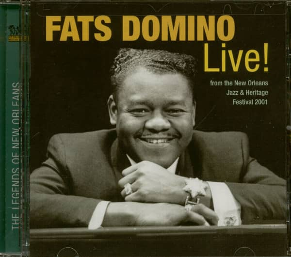 The Legends Of New Orleans - Fats Domino Live (CD)