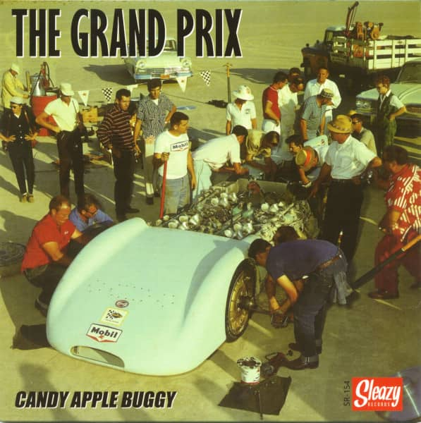Candy Apple Buggy (7inch, EP, Ocean Blue Vinyl, Ltd.)