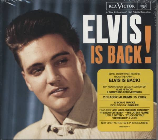 Elvis Is Back...plus-Legacy Edition (2-CD)
