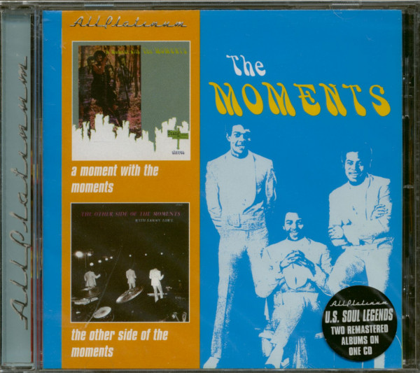A Moment With The Moments - The Other Side Of The Moments (CD)