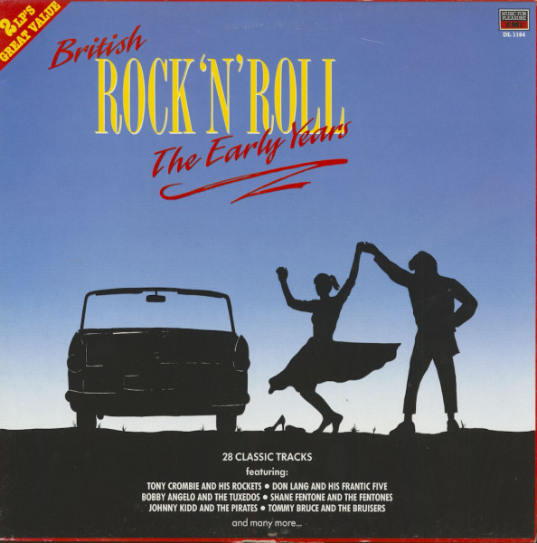 British Rock 'N' Roll - The Early Years (2-LP)