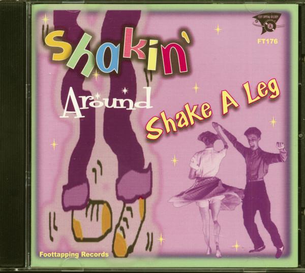 Shake A Leg (CD)