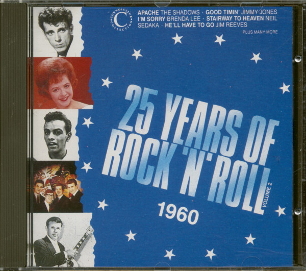25 Years Of Rock'N'Roll 1960 - Volume 2 (CD)