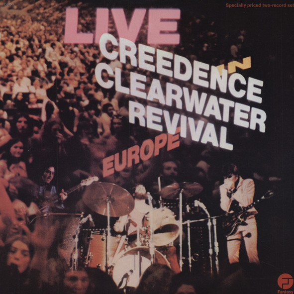Live In Europe 1971 (2-LP)