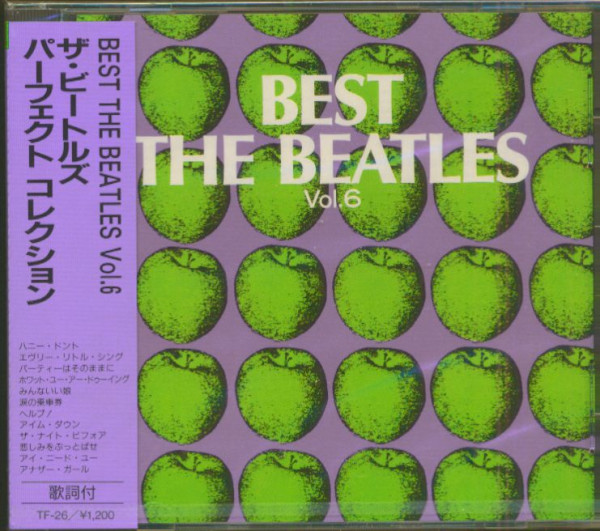 Best - The Beatles, Vol.6 (CD, Japan)