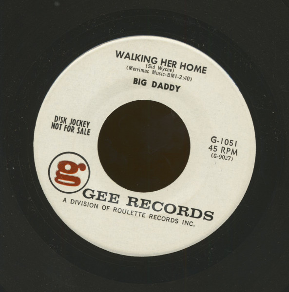Walking Her Home b-w Where In The World (7inch, 45rpm)