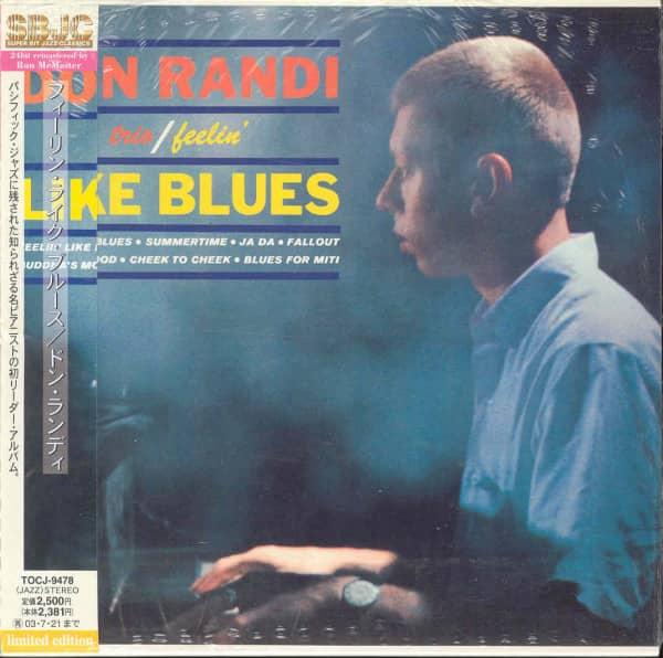 Feelin' Like Blues- Papersleeve 24BIT Limited