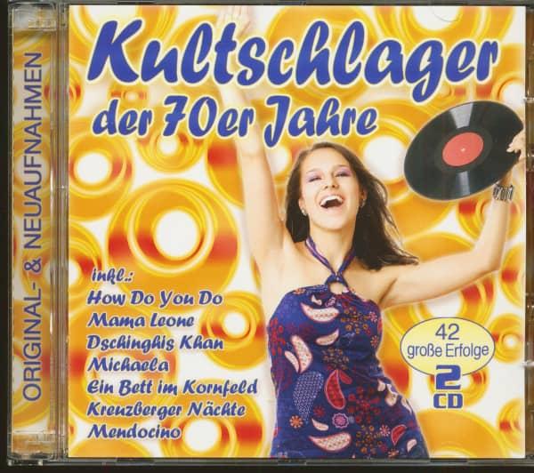 Kultschlager der 70er Jahre (2-CD)