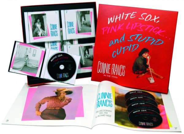 White Sox, Pink Lipstick...And Stupid Cupid (5-CD)