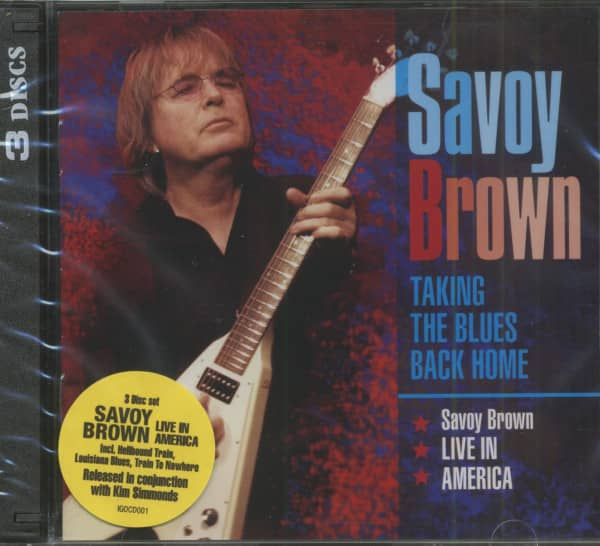 Taking The Blues Back Home - Live In America (3-CD)