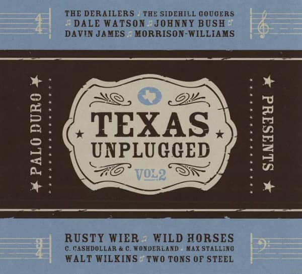 Vol.2, Texas Unplugged - Digipac