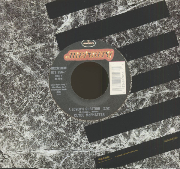 A Lover's Question - Lover Please 7inch, 45rpm