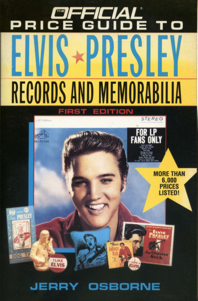 Official Price Guide to Elvis Presley Records and Memorabilia