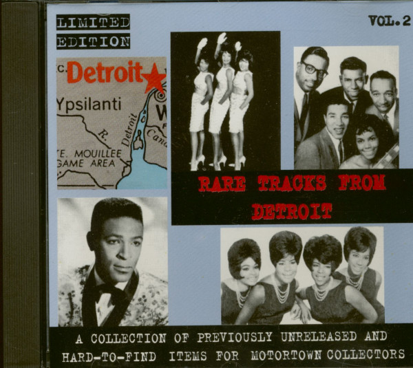 Rare Tracks From Detroit Vol.2 (CD)