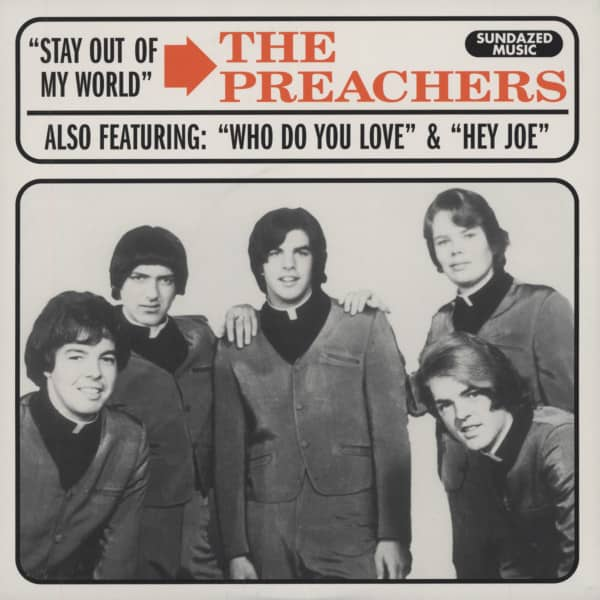 Who Do You Love 7inch, 45rpm EP, PS