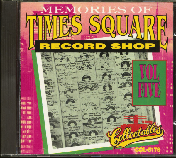 Memories Of Times Square Record Shop Vol.5 (CD)