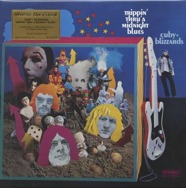 Trippin' Thru' A Midnight Blues (LP, 180g Colored Vinyl, Ltd. & Numbered)