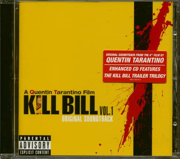 Kill Bill Vol.1 - Original Soundtrack (CD)