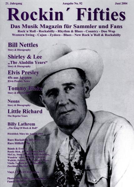 Nr. 92 - Musikmagazin Juni 2004