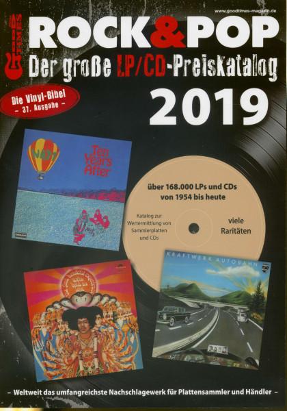 Der große Rock & Pop LP/CD Preiskatalog 2019