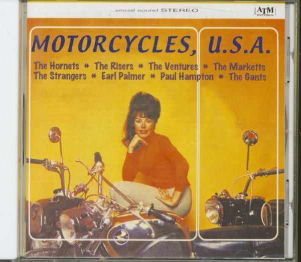 Motorcycles, U.S.A. (CD)