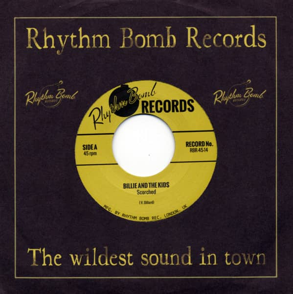 Scorched b - wYour First Kiss 45rpm